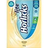 Horlicks Lite Health and Nutrition drink - 450 g Refill pack (Badam flavor)