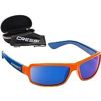 Cressi Ninja, Occhiali Sportivi da Sole Polarizzati con Protezione UV 100%