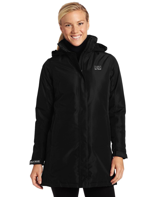 Helly Hansen Women's W Insulated Long Aden Waterproof Jacket ...
