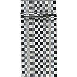 Caw/ö Home Handt/ücher Unique Karo 942 anthrazit 77 Saunatuch 70x180 cm