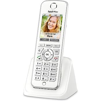 AVM FRITZ! Fon C4 Telefono Cordless a Colori, Invio e Ricezione Mail, Podcast, Webradio, Babyphone, Compatibile con FRITZ!Box con Base DECT