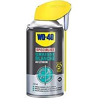 WD-40 Specialist • Graisse Blanche Au Lithium • Spray Double Position • Formule Blanche et épaisse • Résiste à l'Eau et…