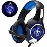Beexcellent GM-1 - Auriculares Gaming para PS4, PC, Xbox one, PlayStation - Psone, Cascos Ruido Reducción de Diademas Cerrado