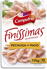Campofrio Lonchas Pechuga Pavo, 115g