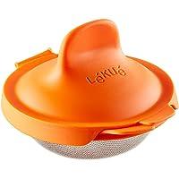 L eacute ku eacute  di uova  acciaio inox  arancione  9 3 nbsp x 11 nbsp x 7 5 nbsp cm