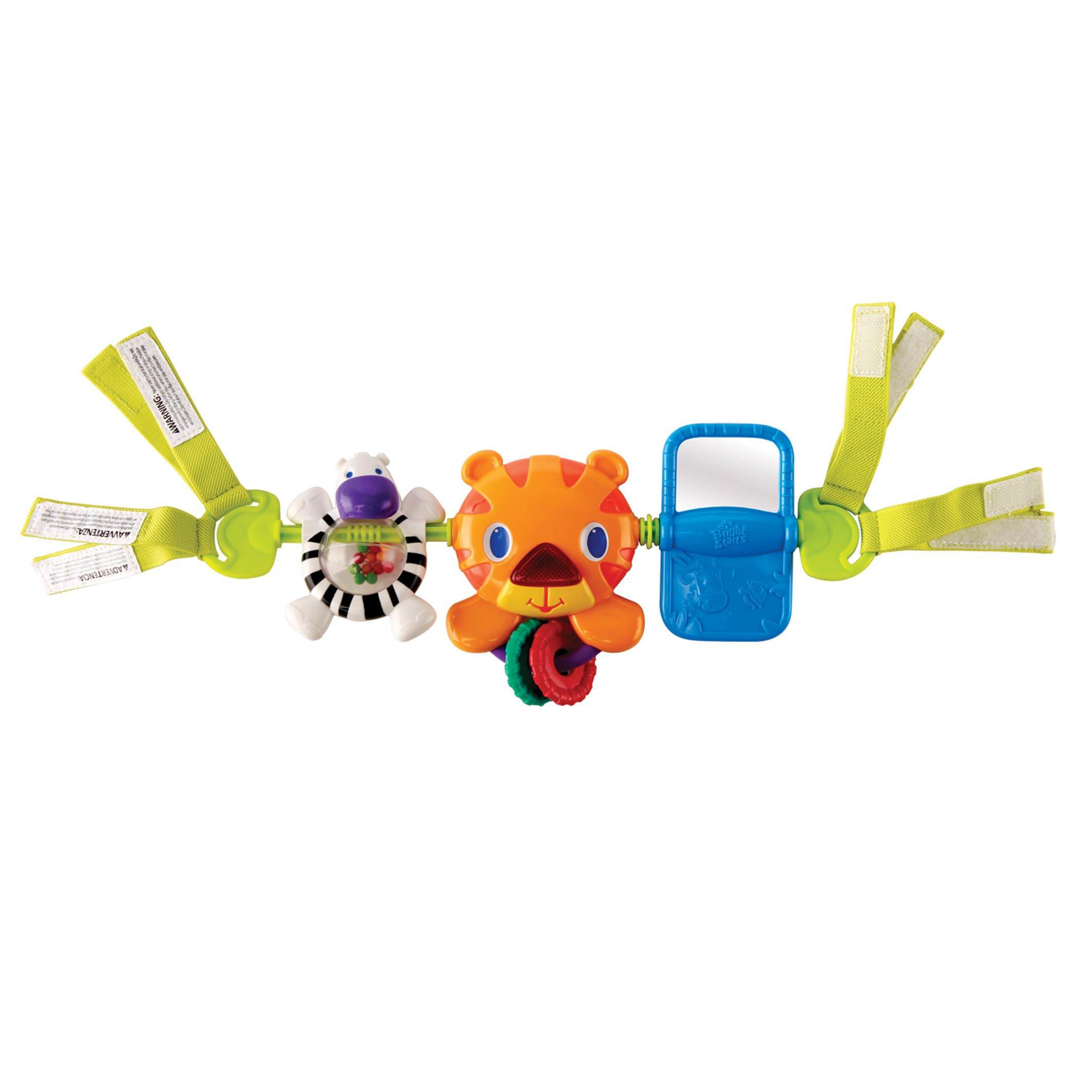 Bright Starts Take Along Musical Toy Bar For Baby Car Seats Carrier Buggie New
