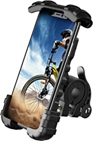Lamicall Handyhalterung Fahrrad, Handyhalter Motorrad - Edelstahl Universal 360 Grad Drehung Outdoor Fahrrad Halter für Phon