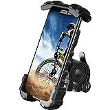 Lamicall Soporte Movil Bicicleta, Soporte Motocicleta - Rotación 360° Soporte Manillar para iPhone 12 Mini, 12 Pro Max, 11 Pr