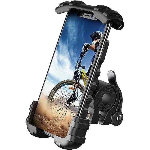 Supporto telefono bicicletta, metallico supporto motociclo BM02-EU-B Lamicall