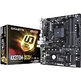 Gigabyte GA-X370M-DS3H Mainboard 4X DDR4 DIMM, dual PC4-25600U/DDR4-3200, 64GB schwarz