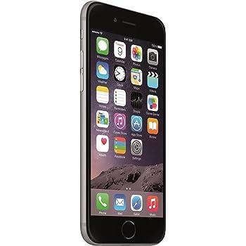 """Apple 6 Plus - Smartphone de 5.5"""" (A8 Dual-Core 1.4 GHz, memoria interna de 16 GB, 1 GB de RAM, cámara iSight de 8 megapíxeles con grabación de vídeo en 1080p HD, iOS) gris"""