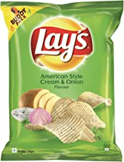 Lay's  Potato Chips - American Style Cream & Onion Flavour - 52g