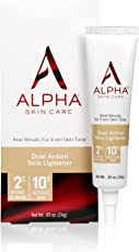 Alpha Skin Care Dual Action Skin Lightener, 0.85 Ounce