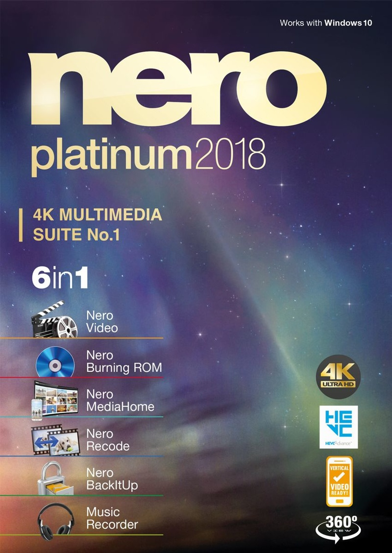 Produktbild Nero 2018 Platinum [Download]