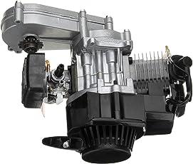 HITSAN 49cc 2-Stroke Pull Start Motor Engine with Transmission for Mini Pocket Bike ATV Scooter