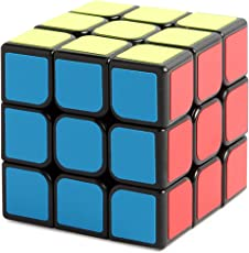Cubo 3x3 Enhanced Edition liscio cubo magico nero