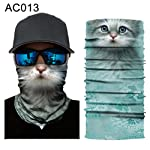 Headscarf lansiZD, Sun Shield Scarf Animal Design Balaclava Face Mask Neck Gaiter Bandana Headband - AC013
