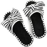 ULTRAIDEAS Women's Memory Foam Open Toe Slide Slippers with Adjustable Strap, Ladies' Slip-on House Shoes Spa Mules Sandals w
