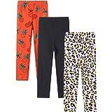 YoungSoul Pack de 3 Leggings para Niñas Pantalones Estampados 3-11 Años
