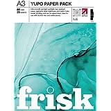 Frisk Yupo Bloc de papier A3, Blanc
