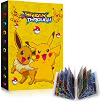 Raccoglitore Carte Pokémon, Porta Carte Pokemon Grande, L'album ha 30 Pagine e può Contenere 240 Carte Album per Carte…