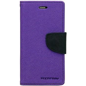 "Tingtong Mercury Goospery Diary Flip Cover for Samsung Galaxy J7 2015 J700F 5.5"" - (Purple)"