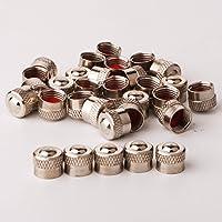 RUNCCI-YUN Bouchons de Valve en Aluminium Casquettes Anti Poussière de Voiture Tige de Roue de Pneu Capuchons de…