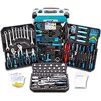BITUXX® Werkzeugkoffer 1200 teilig Werkzeug Knarrenkasten Werkzeugkiste Werkzeugtrolley Nusskasten Ratschenkasten…
