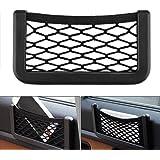 Car Storage Organizer, DSSKY 2-Pack Universal Car String Bag Car Seat Side Storage, 7.9 X 3.2 Net Bag Mesh Pocket Organizer S