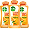 Dettol Body Wash and Shower Gel, Energize - 250ml Each (Buy 2 Get 1)