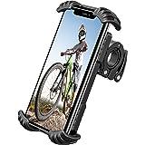 Riapow Porta Cellulare Bici Universale Supporto Telefono Bicicletta Regolabile Ruotabile a 360° Supporto Smartphone per Motoc