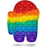 UK-STOCK   Pop Up Fidget Toy, Fidget Toys Set for Kids & Adults, Bubble Popper Fidget Toy Stress Relief Toys for Autism Speci
