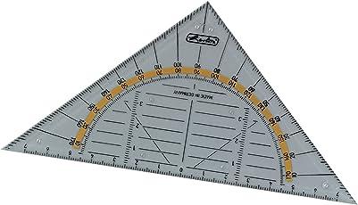 Herlitz, prodotti per la misurazione squadra piccola Nur Geodreieck
