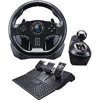 Superdrive - Rennlenkrad GS850-X Drive Pro Sport Lenkräd mit manuellem Schalthebel, 3 Pedalen, und Schaltwippen für Xbox…
