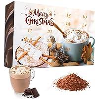C&T Trinkschokolade Adventskalender 2021 (No2) | 24 Sorten italienische Kakao-pulver mit Verfeinerungstipps…