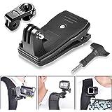 Fantaseal® Clip Sac à Dos, Mini Clip/Pince à Sac pour Gopro, Fixation à 360 Dégrés Rotation pour GoPro, Pinc Accessoires…