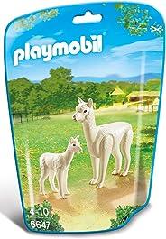 طقم بناء من بلاي موبيل, Alpaca with Baby