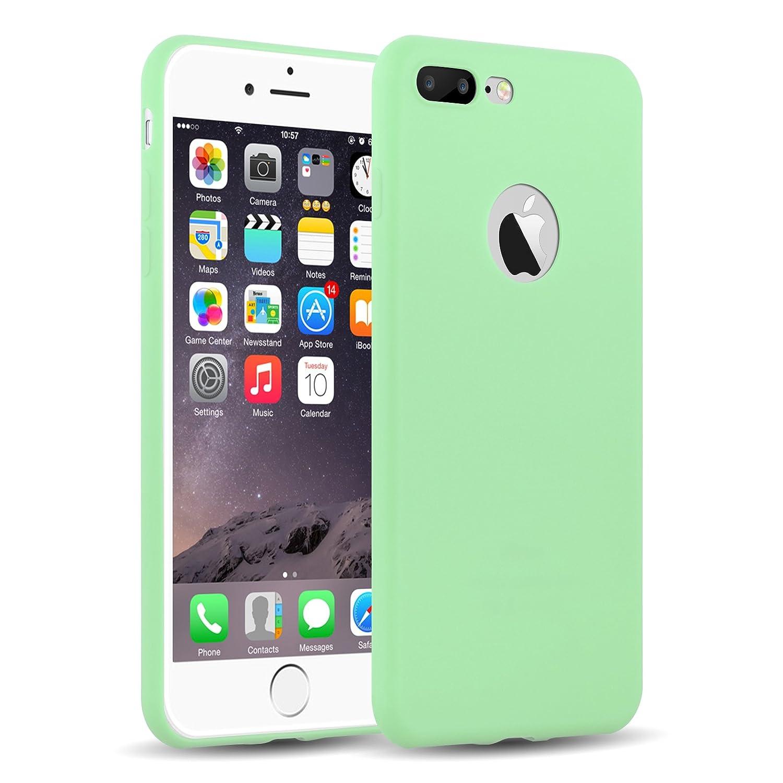 Cover iPhone Siliconata Verde