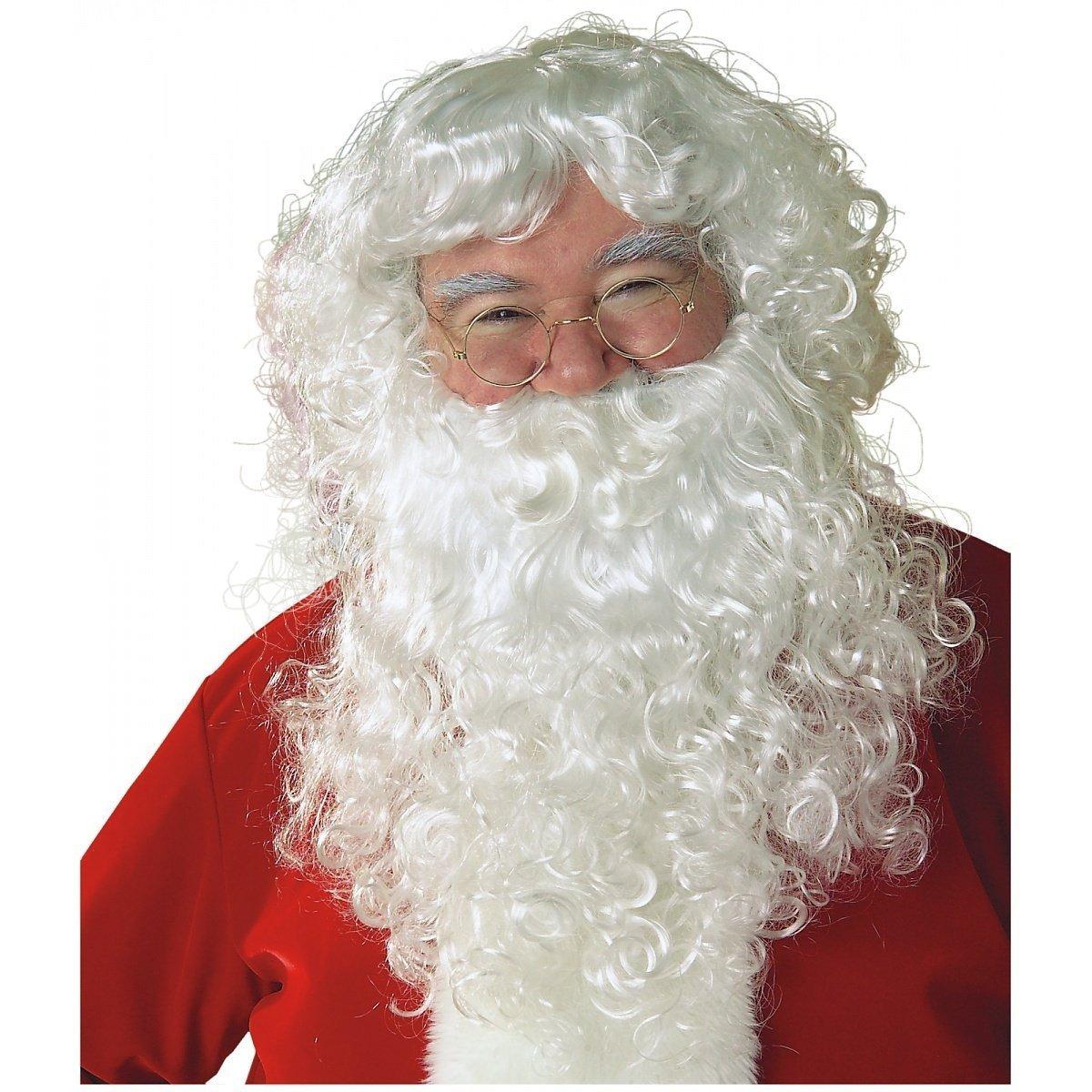wig and beard father christmas santa claus st nicholas amazon co