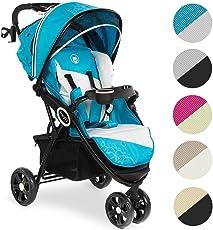 Froggy® Kinderbuggy DINGO Kinderwagen Buggy Jogger ultraleicht 5-Punkt-Sicherheitsgurt kompakt verstaubar zusammenklappbar Liegefunktion Sonnenverdeck