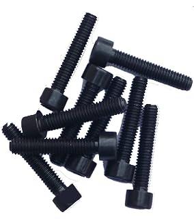 Zylinderkopfschrauben M8x10 - SC912 ISO 4762 aus rostfreiem Edelstahl A2 V2A - Vollgewinde - DIN 912 Zylinderschrauben mit Innensechskant 100 St/ück