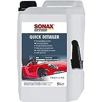 SONAX 2685000 QuickDetailer (5 Liter) Fahrzeugschnellpflege zum Sprühen. Frischt Farben auf und verleiht herausragende…