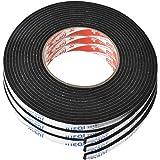 Fodlon dubbelzijdige tape zware duty schuim tape voor Windows badkamer kit waterdichte tape 3 Stks lijm strips Draft Excluder