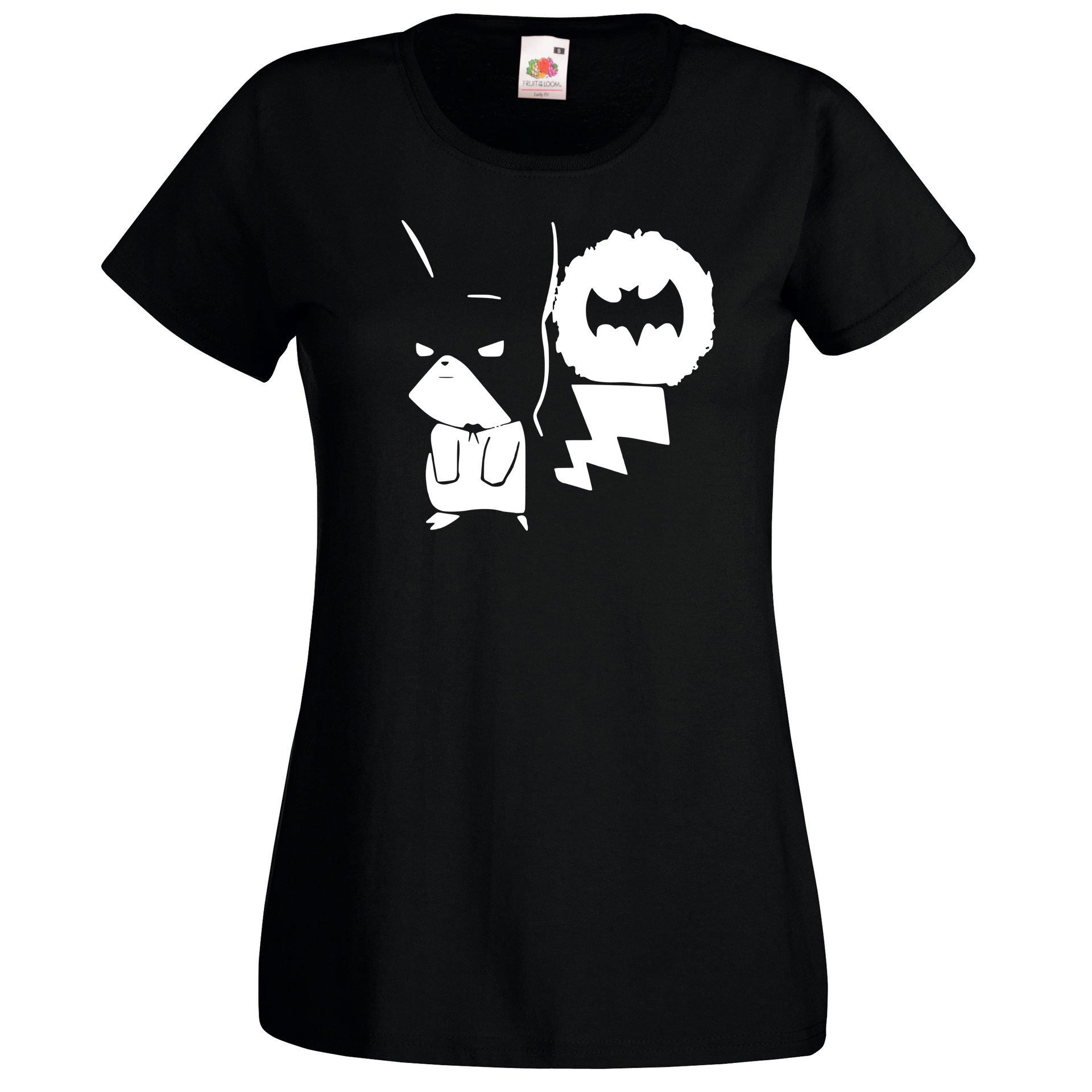 Batman Modell 2eidh9ewy Shirt Farbe Größe T Schwarz Damen L Pikachu IEDH29