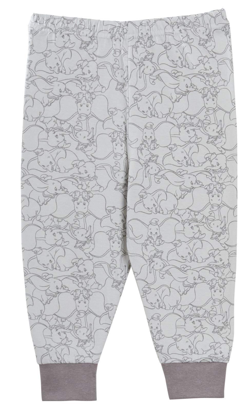 Pijama de Dumbo para bebé, niños y niñas, unisex, juego de pijamas de 2 piezas, de Disney 4