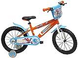 Disney Planes Kinder-Fahrrad 40,6 cm Orange/Blau