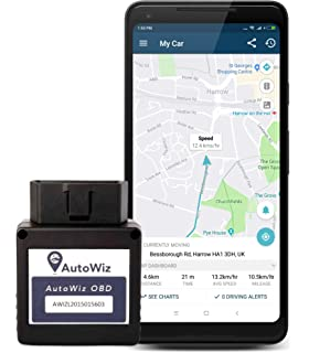 Autowiz Obd Gps Car Tracker   Plug N Play, Live Vehicle Tracking, Car Health And Mileage Monitoring
