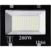 Gesto Ip66 200W LED Outdoor Flood Light, Cool Day White,Pack of 1