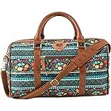 Chumbak Boho Spirit Weekend Duffel Bag - Printed Bag, Sports Bag, Travel Bag, Shoulder Bag with Adjustable Straps, Casual, fo