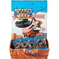 Gelco Maxi Crazy West Caramelle Gommose alla Liquirizia, 200 Rotelle di Liquirizia Monopezzo, Formato Scorta 2 Kg…